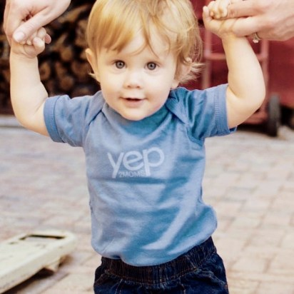 Andy Ashton wearing his yep onesie. Photo by Abby Kennan.