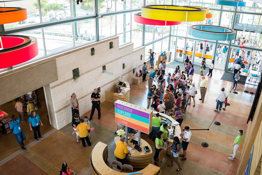 The entrance at The DoSeum. Photo by Scott Ball.