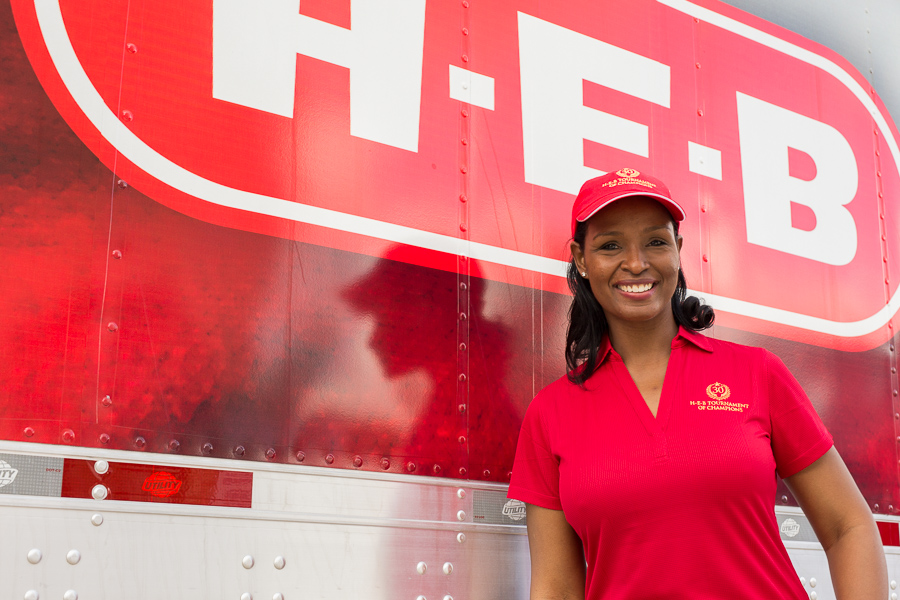 Winell Herron, H-E-B Group vice president of Public Affairs and Diversity, poses for a photo. Photo by Scott Ball.