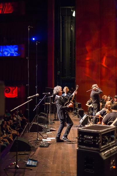 "Demitasse performs ""No Surprises"". Photo by Scott Ball."