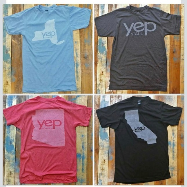 A selection of yep Threads' T-shirts. Courtesy image.