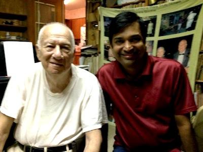 Abraham and Anandanada Yogi. Photo courtesy of Northside Music School.