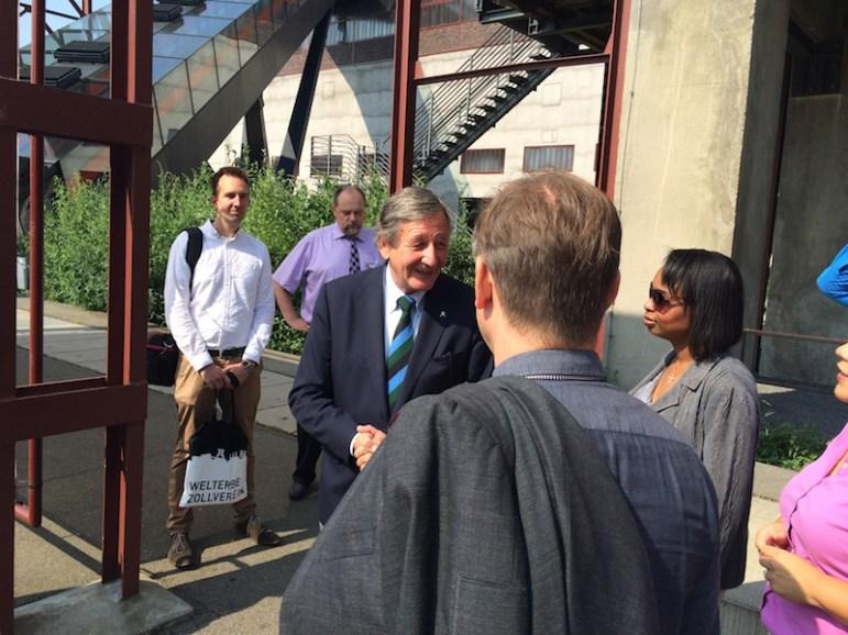 Essen - World Heritage Site Zeche Zollverein CEO Hermann Marth welcomes SA group 2