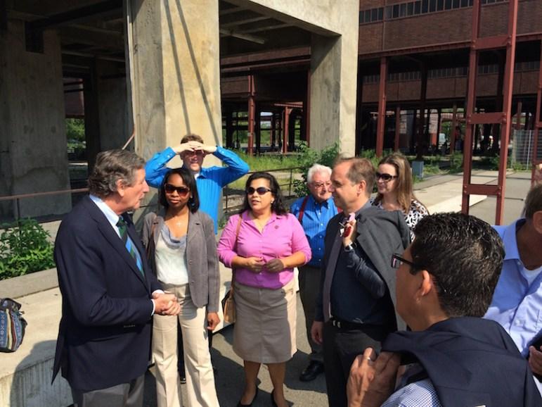 Essen - World Heritage Site Zeche Zollverein CEO Hermann Marth welcomes SA group