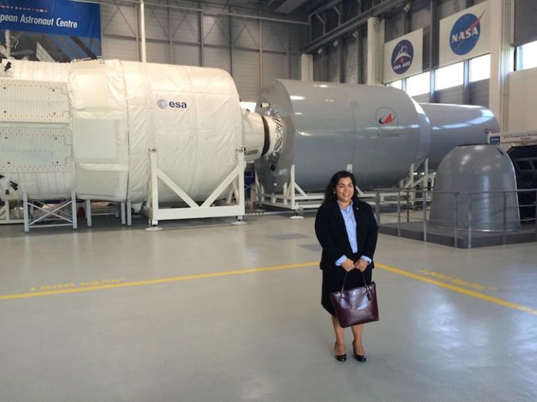 European Astronaut Center - CW Viagran