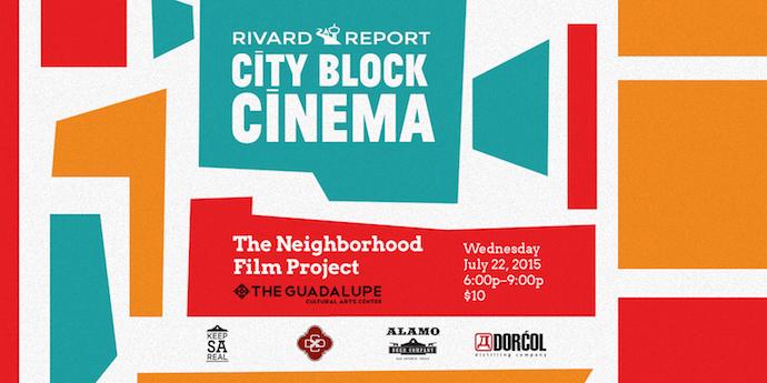 City Block Cinema Graphic