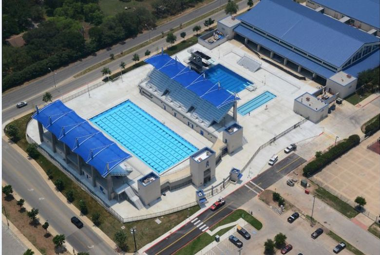 An aerial view of the Northside Swim Center. Courtesy photo.