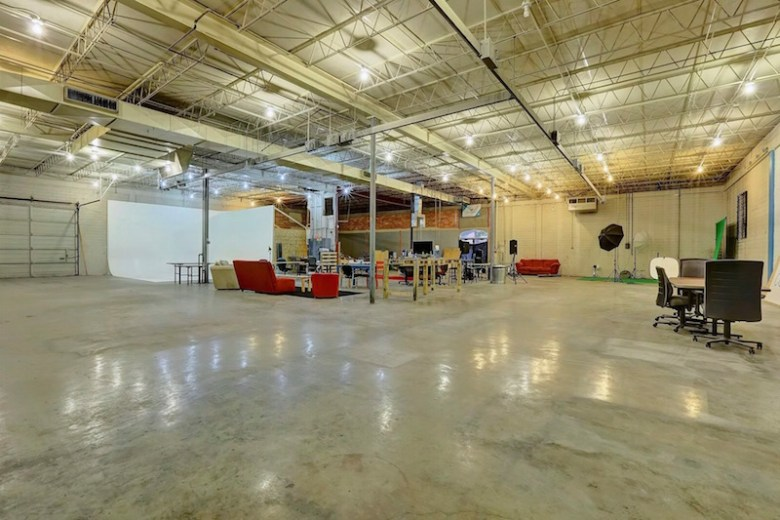 The Co Lab warehouse space. Photo courtesy of Co Lab.