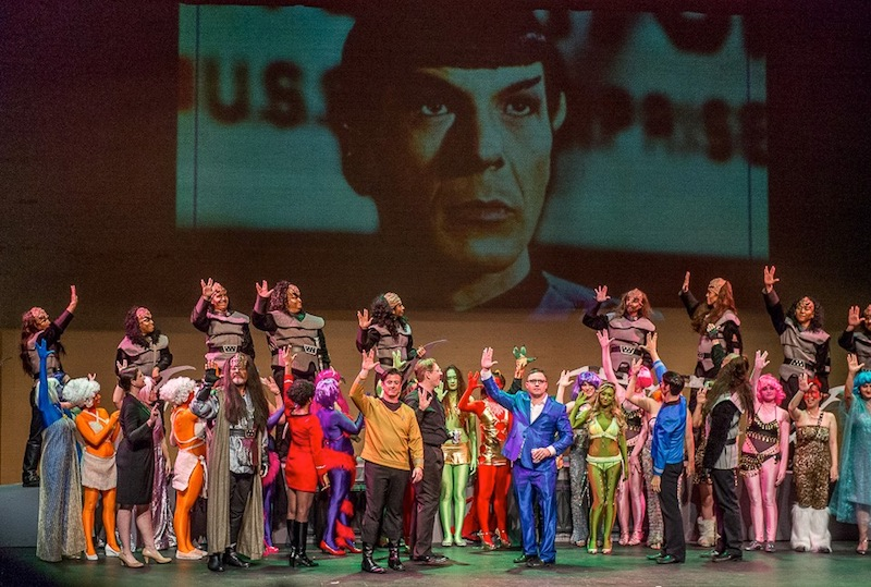 """Pacific Opera Project put a """"Star Trek"""" spin on Mozart's """"The Abduction From the Seraglio."""" It will be produced by Opera Piccola for its 2015-16 season."""