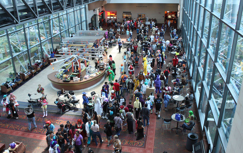 San Japan, a Japanese pop culture convention, attracted nearly 20,000 attendees the Henry B. Gonzalez Convention Center in 2015. Photo by Kay Richter.