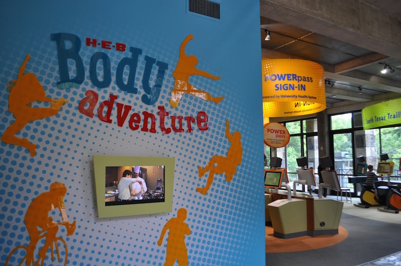 During the Witte Museum H-E-B Body Adventure media preview event May 23, 2014. Photo by Iris Dimmick.