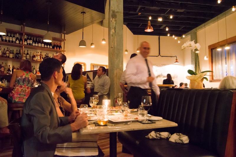 Brigid showcases Chef Chris Carlson's take on modern American cuisine. Photo by Lea Thompson.
