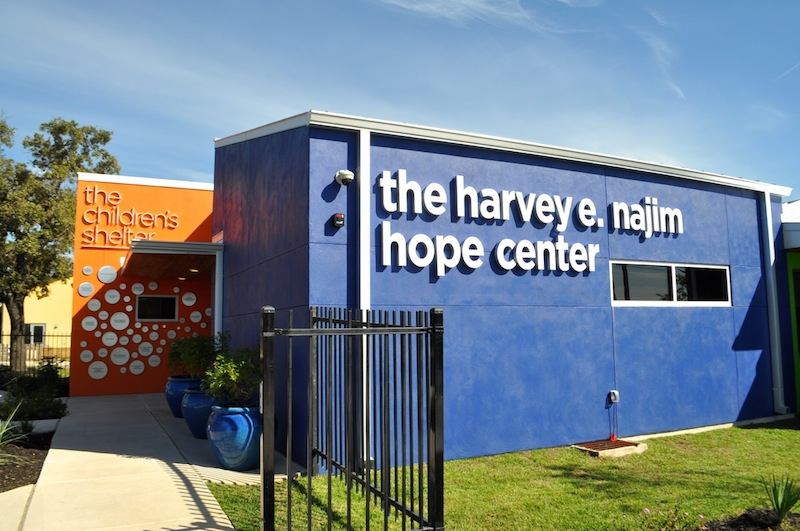 The Harvey E. Najim Hope Center. Photo by Iris Dimmick.