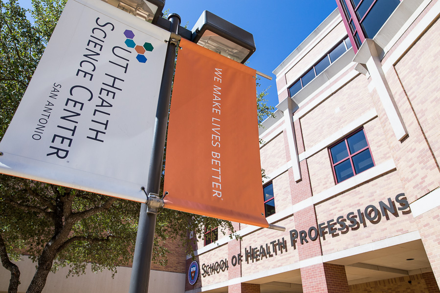 The University of Texas Health Science Center at San Antonio School of Health Professions. Photo by Scott Ball.