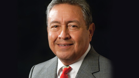Roberto Zárate. Photo courtesy of Alamo Colleges.