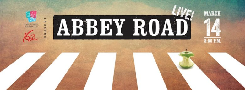 A promotional banner advertising the YOSA Abbey Road Live concert. Courtesy Photo.
