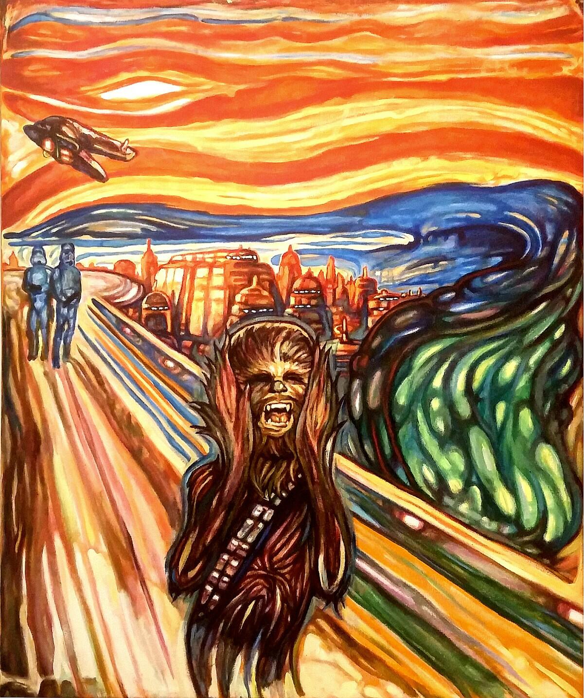 Wookiee's Scream,David Blancas, 2015. Courtesy Photo.