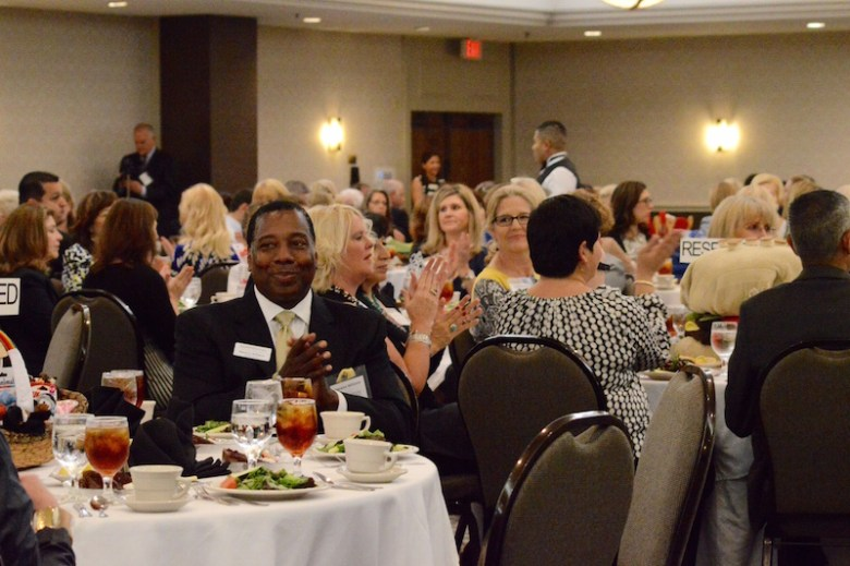 More than 80 regional non-profits were represented at the STMM Sixth Annual Nonprofit Luncheon on Tuesday, Nov. 3. Photo by Lea Thompson.