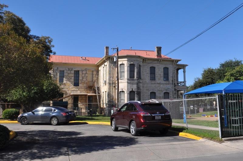 The Healy-Murphy Child Development Center at 122 Nolan St. as seen off of Live Oak St. Photo by Iris Dimmick.