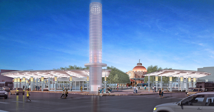 Design rendering for Centro Plaza. Courtesy of VIA.