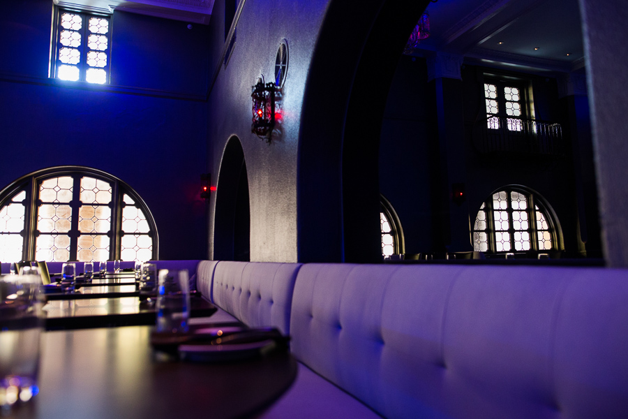 The front dining room at Rebelle. Photo by Scott Ball.