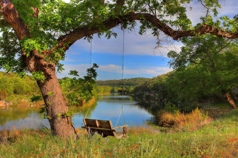 A scene in the Texas Hill Country. Photo by Todd Abbott Winters.