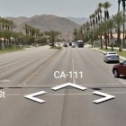 The intersection of Cook Street and CA Route 111 in Indian Wells, Calif. was the site of a fatal crash in 2011.