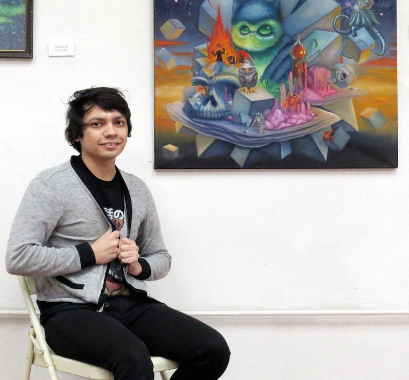 Samuel Velasquez. Photo by David Rubin.
