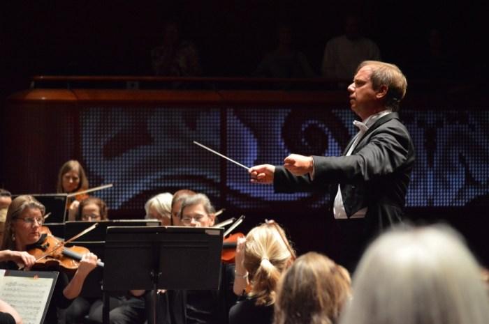 Sebastian Lang-Lessing conducts the San Antonio Symphony. Photo courtesy of San Antonio Symphony,