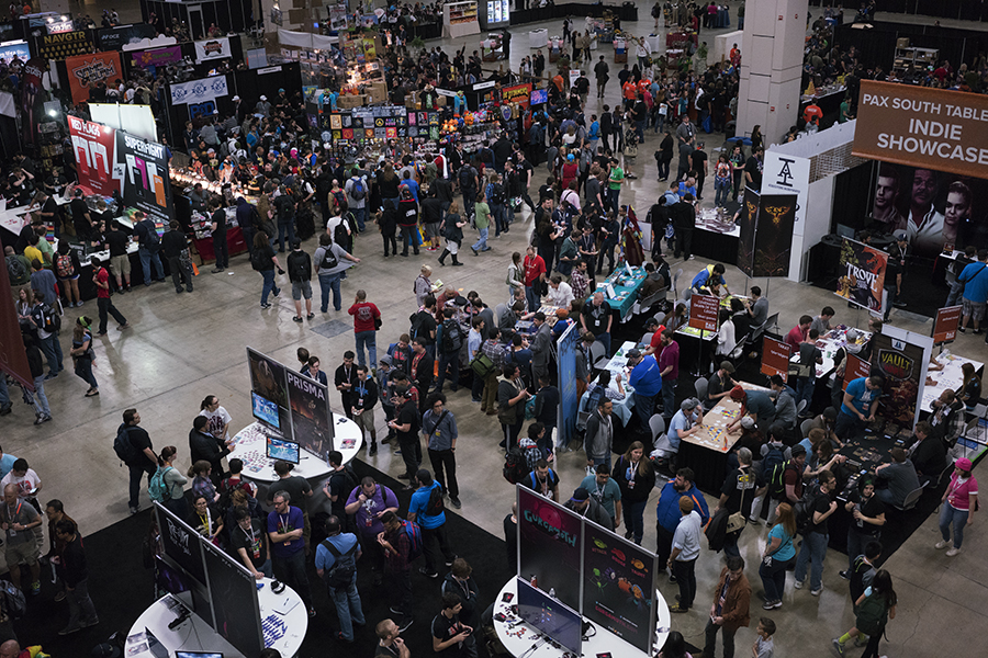Last year's PAX South convention brought tens of thousands of gaming enthusiasts. Photo by Kathryn Boyd-Batstone