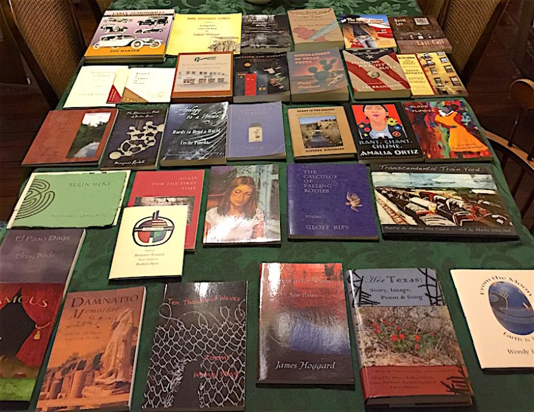 A selection of Wings books. Photo by Wendy Weil Attwell.