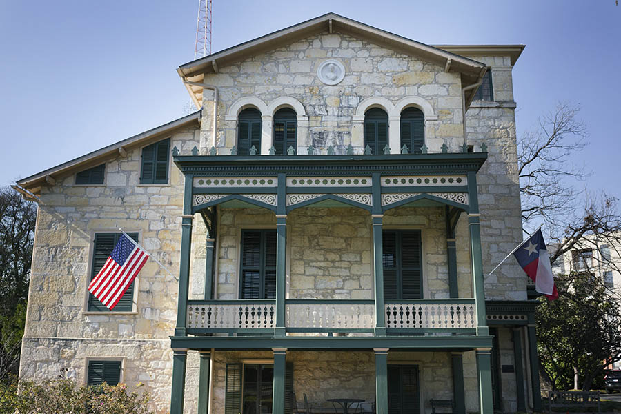 """The San Antonio Conservation Society works to """"preserve and to encourage the preservation of historic buildings, objects, places and customs relating to the history of Texas"""". Photo by Kathryn Boyd-Batstone"""