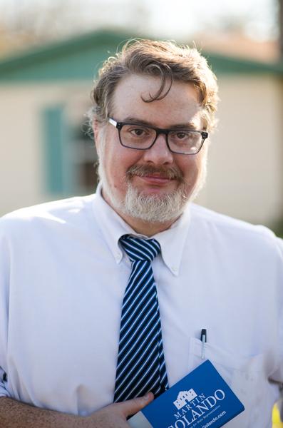 Martin Golando, 38, is a local attorney running for the Democratic State Representative for District 116.