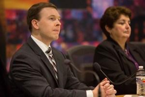 SAISD Board Trustee (D1) Steve Lecholop. Photo by Scott Ball.