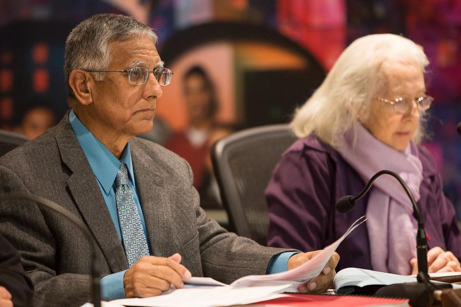 SAISD Board Vice President Arthur Valdez (D4). Photo by Scott Ball.