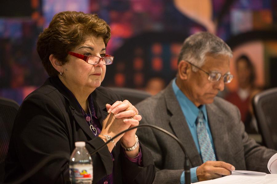 SAISD Board Trustee Olga Hernandez (D6). Photo by Scott Ball.