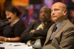 SAISD Board Trustee Ed Garza (D7). Photo by Scott Ball.