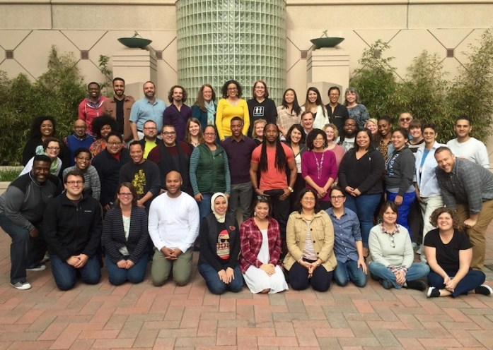 The November 2015 Social Justice Training Institute cohort. Courtesy photo.