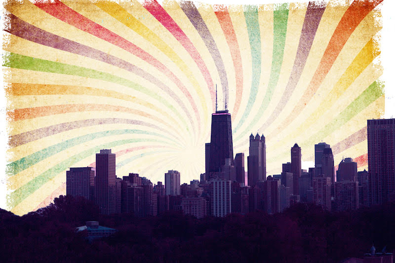 """Rainbow Coalition"" is a feature length documentary that will explore the rise and fall of a multi-ethnic political movement in 1960's Chicago. Courtesy Image."