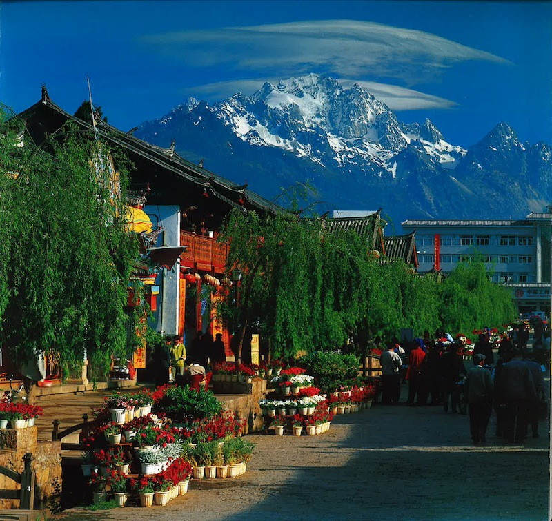 Lijiang Old Town, Lijiang, China. Photo courtesy of Overland Partners.