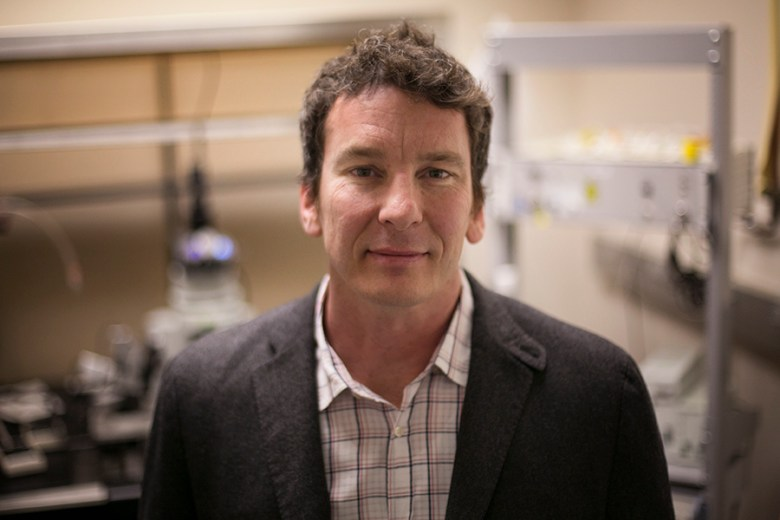 UTSA neuroscience researcher, Carlos Paladini, received an $1.8 million grant for research in PTSD, Parkinson's, drug addiction. Photo by Kathryn Boyd-Batstone