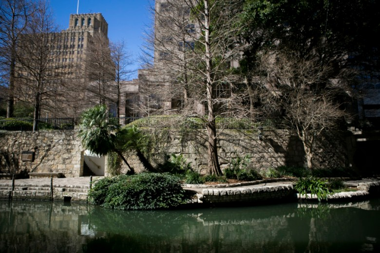 The Green Gate Building is located right on the Riverwalk. Photo by Kathryn Boyd-Batstone