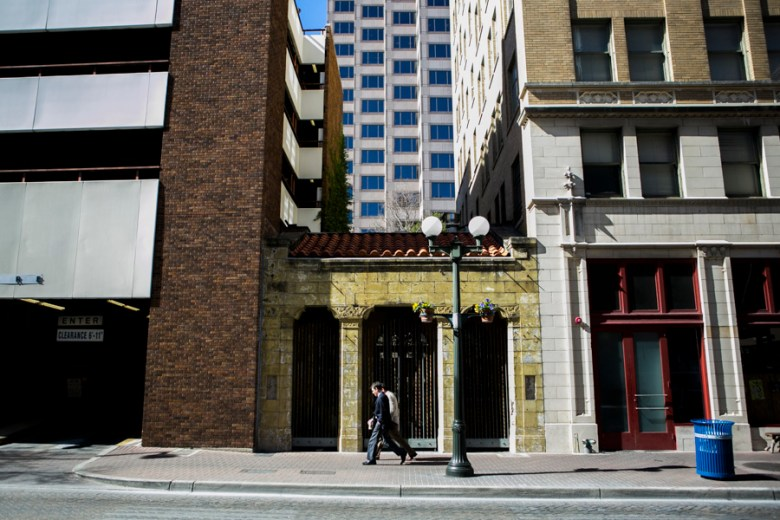 Clayton & Little Architects is located at 429 North St. Mary's Street. Photo by Kathryn Boyd-Batstone