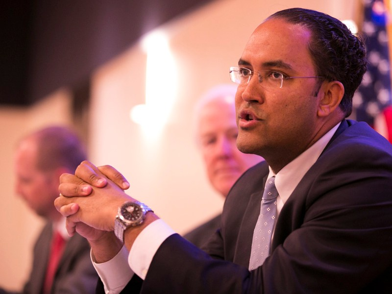 U.S. Representative Will Hurd (TX-23) is a San Antonio local and a product of the public school system here. Photo by Kathryn Boyd-Batstone