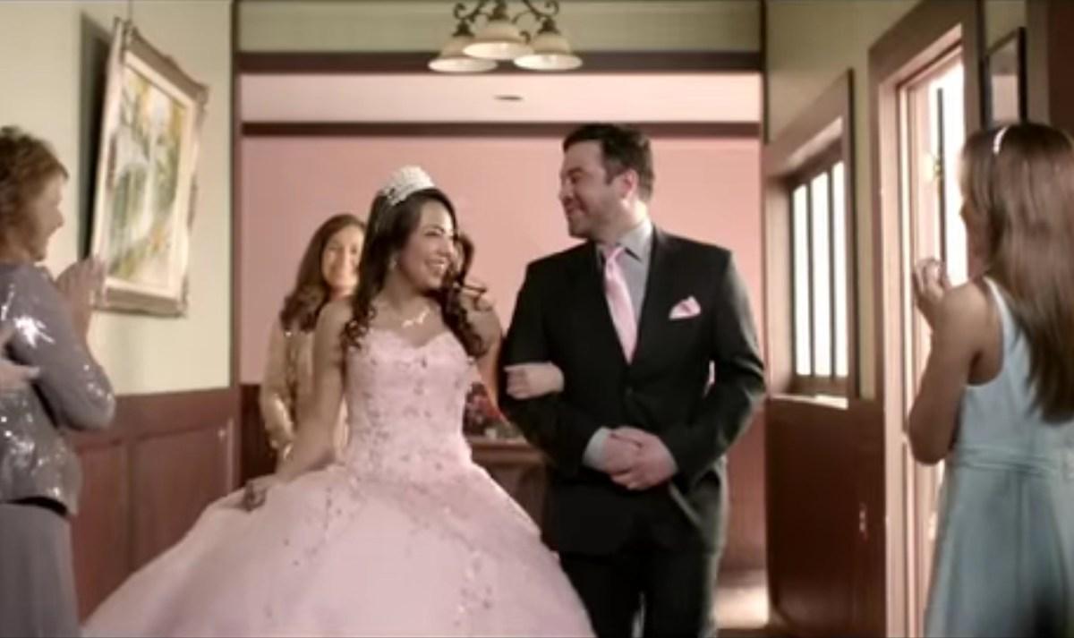 "Screen shot of H-E-B's ""How to Make a Texas"" Super Bowl 50 commercial."
