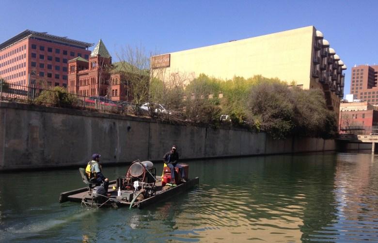 River maintenance crews