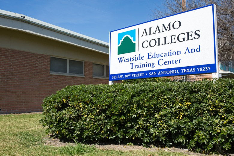 The Alamo Colleges Westside Education and Training Center. Photo by Scott Ball.