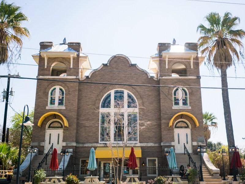 Frank is located at 1150 S. Alamo St, a former Alamo Methodist Church. Photo by Kathryn Boyd-Batstone
