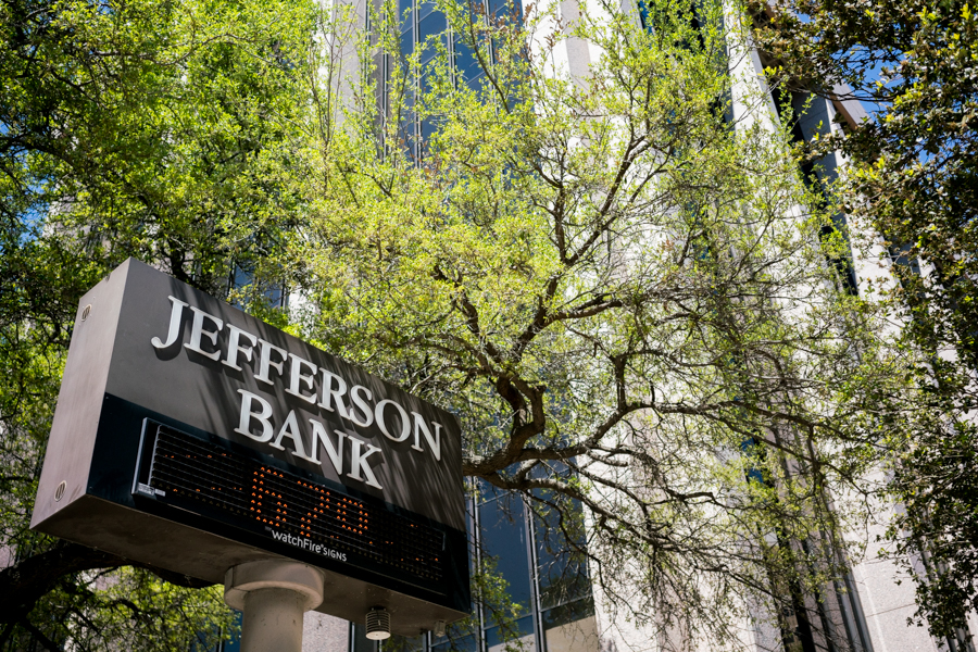 Jefferson Bank is currently observing its 70th anniversary this year. Photo by Kathryn Boyd-Batstone