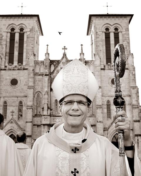 The Most Reverend Gustavo García-Siller, archbishop of San Antonio. Photo by Al Rendon.